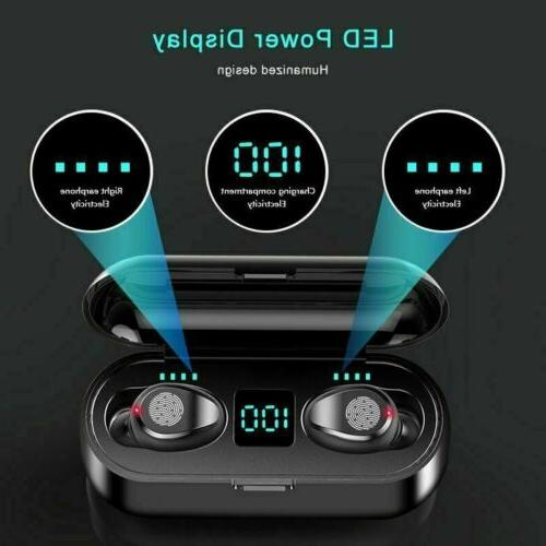 Bluetooth Wireless Headphone Noise Cancelling TWS Waterproof