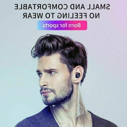 Bluetooth 5.0 Wireless Earphones Earbuds Headset Headphone