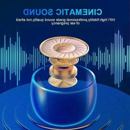 Bluetooth TWS Wireless Earphones Earbuds Headset