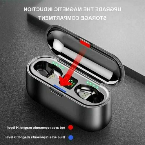 Bluetooth Headphone Noise Cancelling TWS