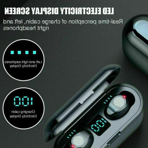 Bluetooth 5.0 Wireless Headphone TWS
