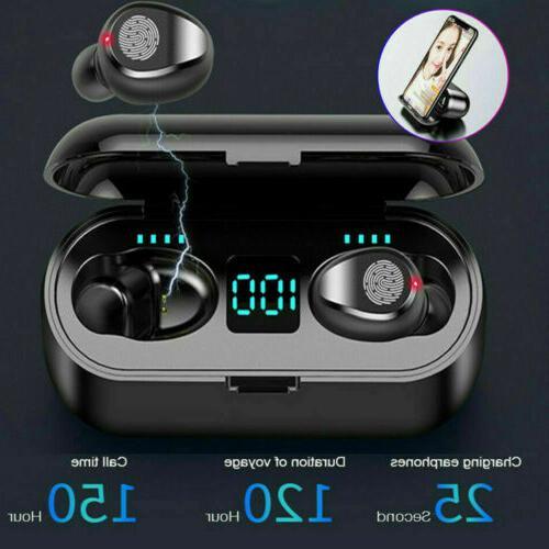 bluetooth 5 0 wireless earbuds headphone headset