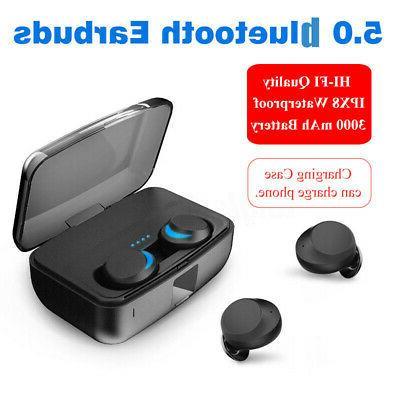 bluetooth 5.0 Stereo Earphones Case