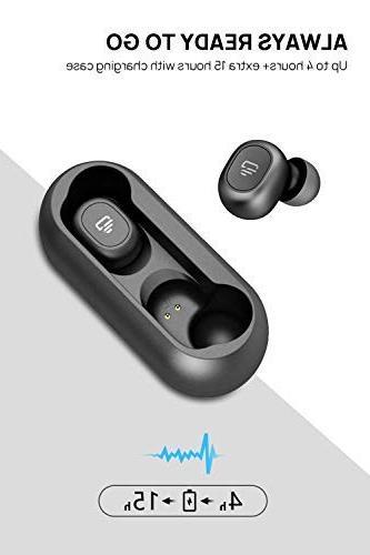 Dudios 5.0 Earbuds, True Wireless Headphone Sound Sweatproof Headset