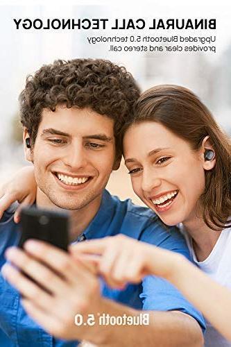 Dudios 5.0 Earbuds, True Wireless HiFi Stereo Sound in-Ear Headset