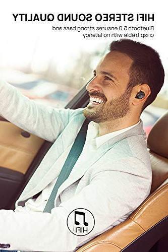 Dudios 5.0 Earbuds, True Wireless HiFi Sound Headset