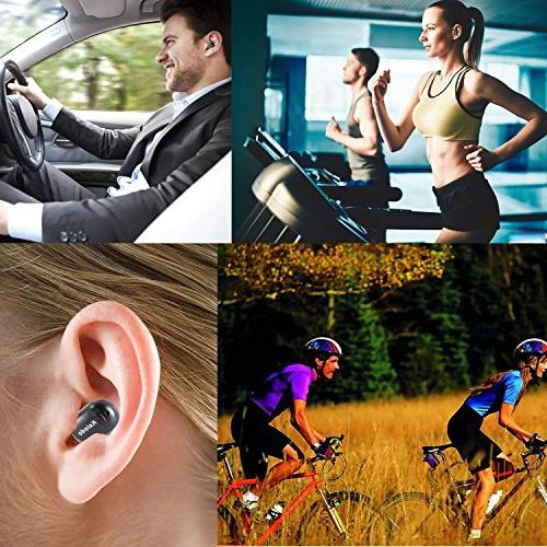 in Earphone Wireless Headphone for iPhone Samsung Galaxy Sony Android Smartphones One