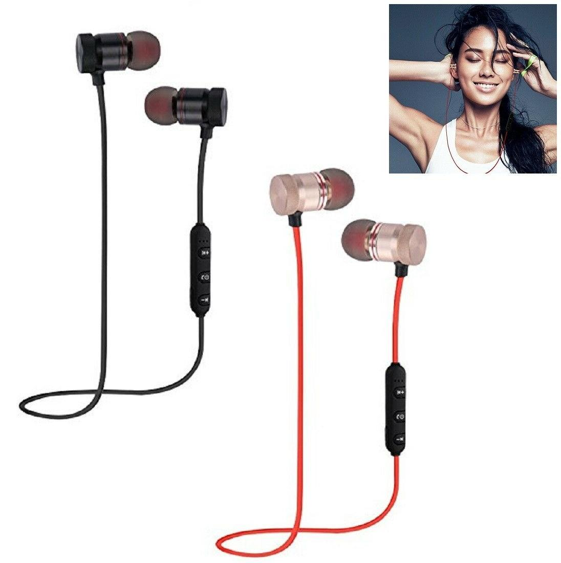 bluetooth earbuds earphone sports wireless headphones in