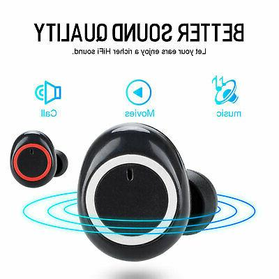 Bluetooth Earbuds iPhone Samsung Wireless Airpods