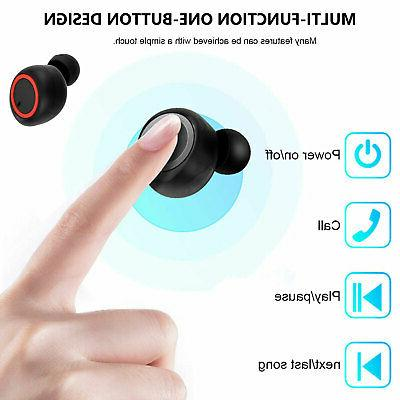 Bluetooth Earbuds Earpods iPhone Android Wireless Airpods Earphones