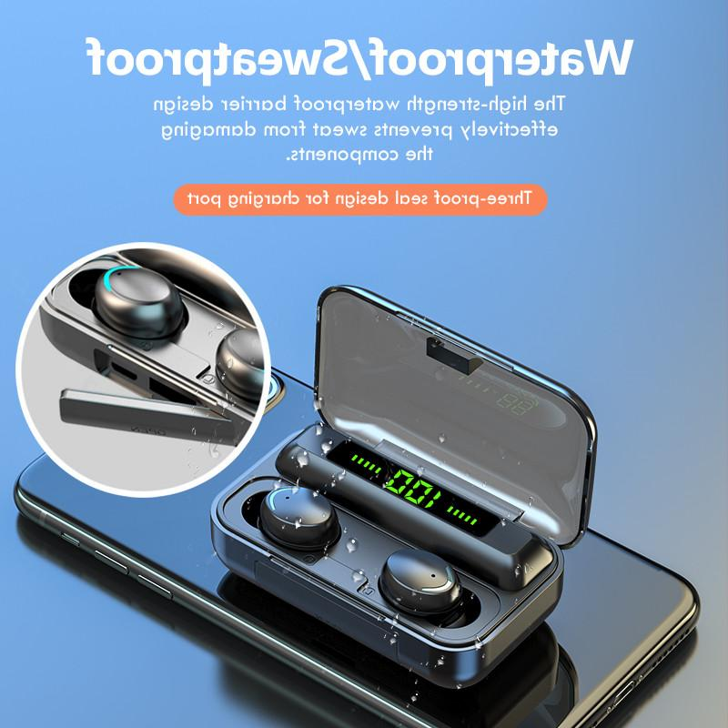 Bluetooth Earbuds for Samsung Wireless IPX7 WaterProof