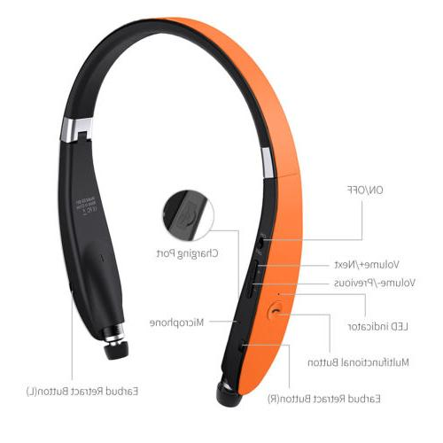 Bluetooth Earbuds Stereo Headphone Universal