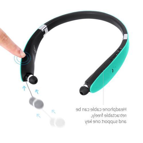 Bluetooth Headset Stereo Earphone Sport Universal