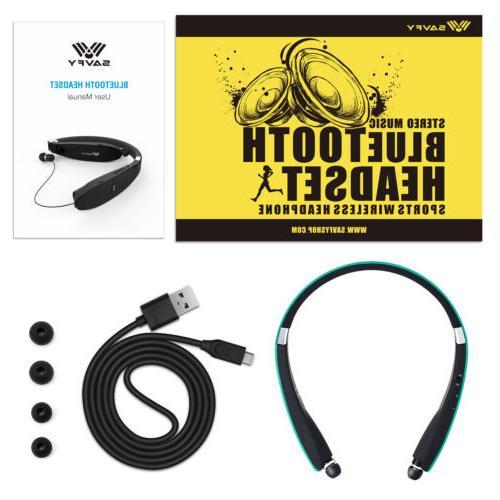 Bluetooth Earbuds Stereo Headphone Earphone Sport Universal
