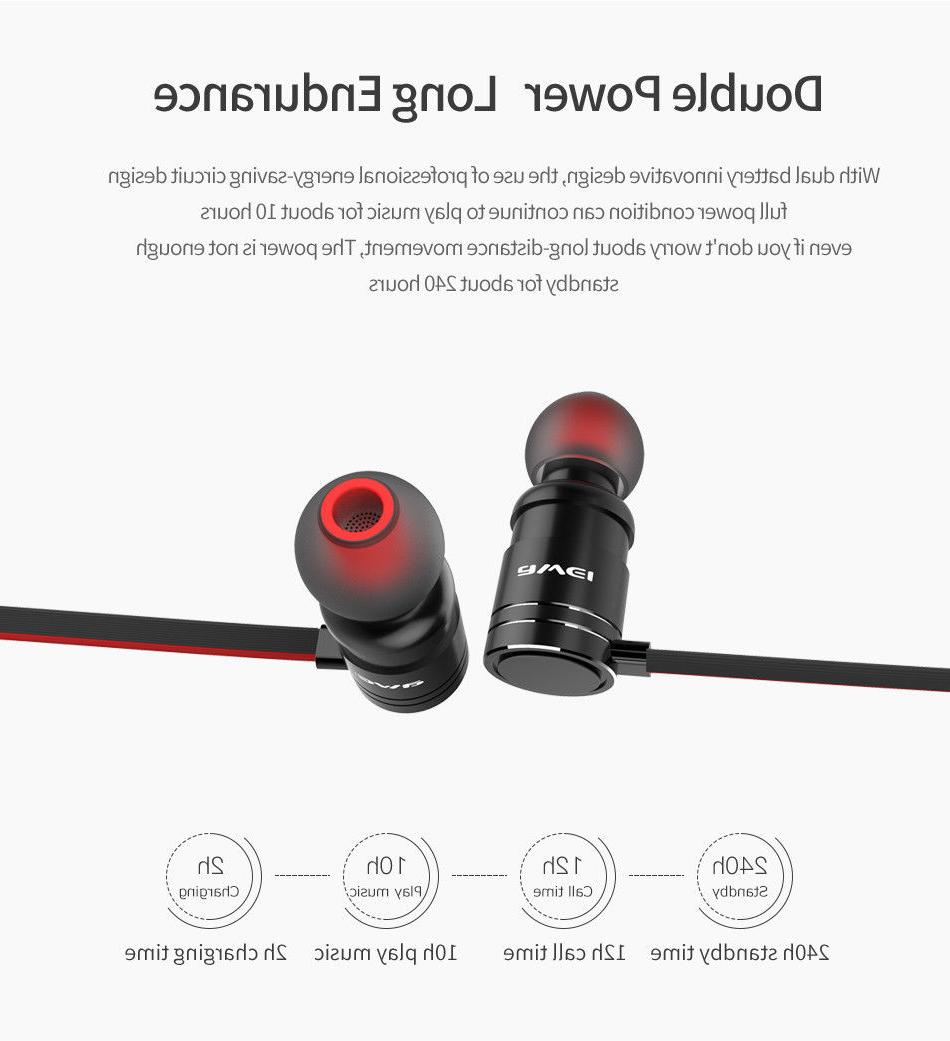 AWEI Stereo Earphones Sport Headphones