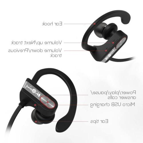 Bluetooth Stereo Noise Cancelling Earbuds In-Ear