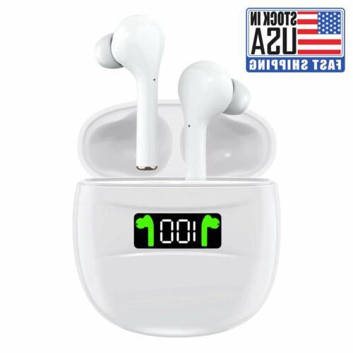 bluetooth earphones 5 2 wireless earbuds ipx7