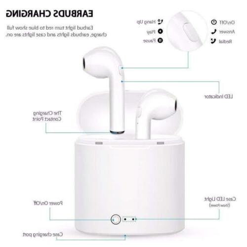 Bluetooth iPhone Android Samsung In Ear Wireless
