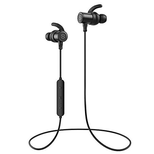 SoundPEATS 4.1 in-Ear IPX6 Headphones Mic -Black
