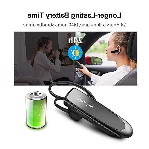 Bluetooth Headset New 24 60 With Noise Headset Case iPhone Android Driver