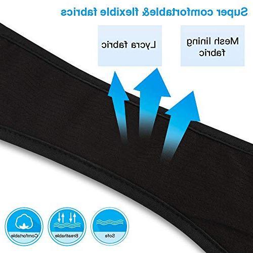Bluetooth Headband AGPTEK Bluetooth Headband with Speaker, Sleeping, Sports, Air Women Men,