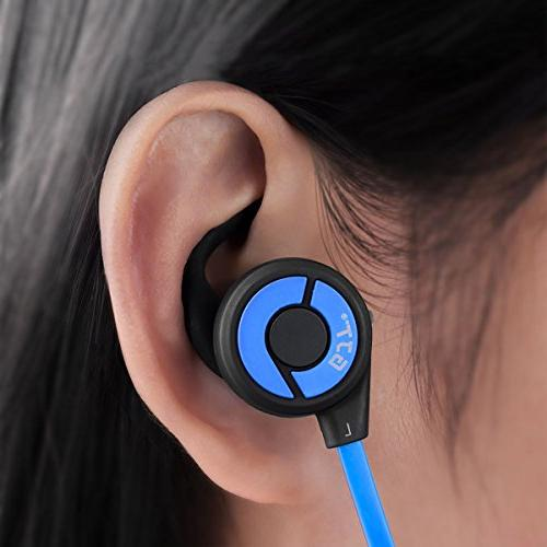 GJT V4.1 Wireless with Headsets Lightweight Sweatproof Noise Fit for
