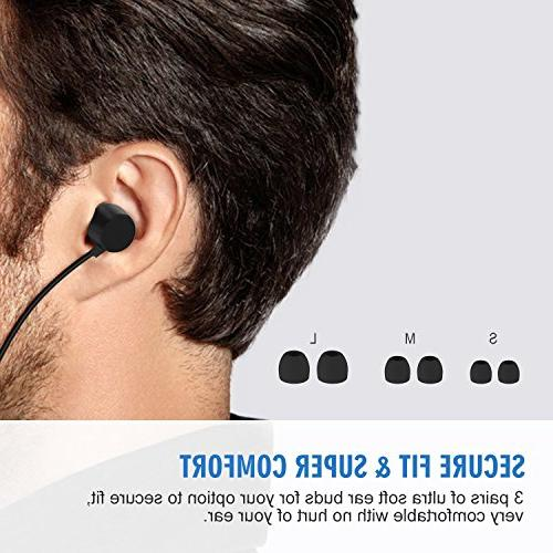 Bluetooth Jelly Comb Wireless Earbuds, Neckband with - Cancelling, Hours Playtime, Fast Pairing