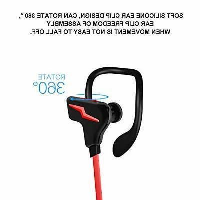 Bluetooth Headphones, Hi-Fi 3D Stereo Earbuds, 7 Hours