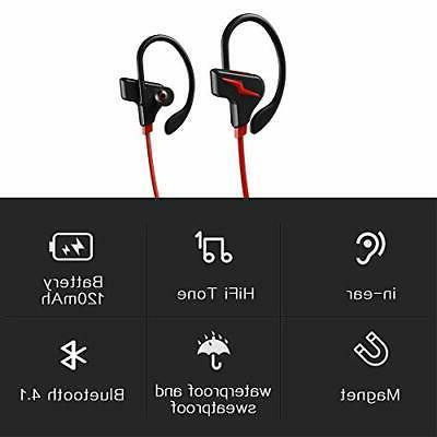 Bluetooth Headphones, 3D Stereo Hours