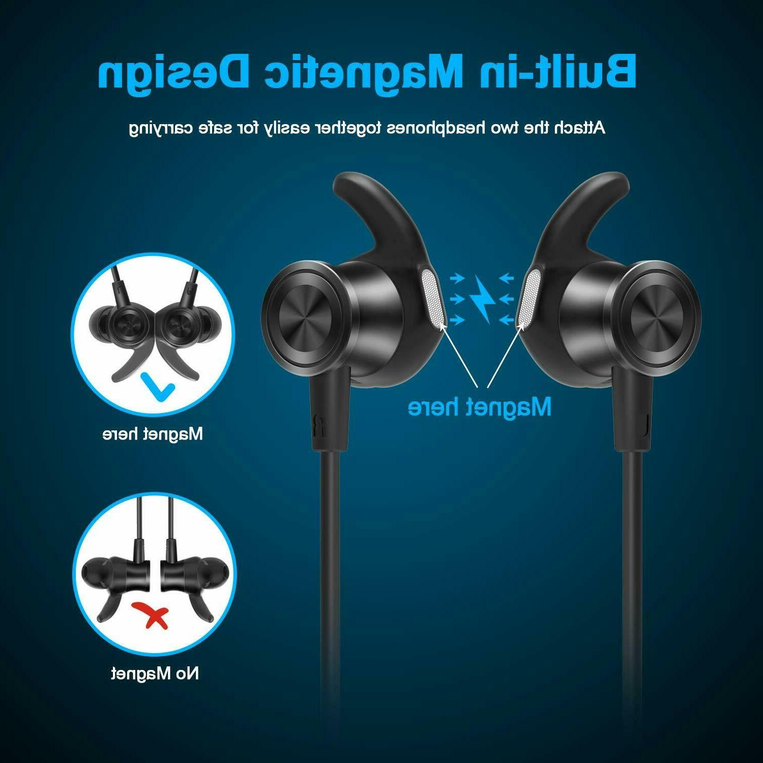 Letscom Wireless Earbuds Magnetic