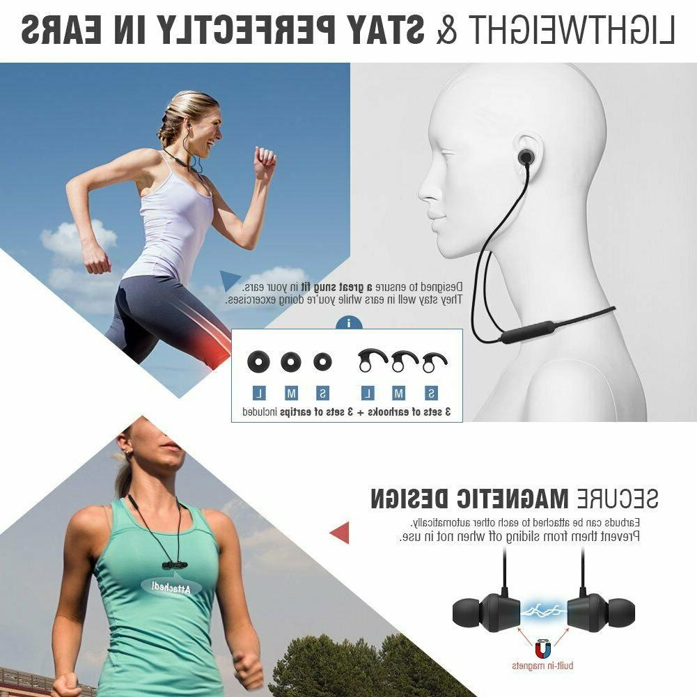 Qi Lightweight Earbuds Magnetic