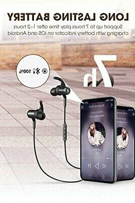 SoundPEATS in-Ear Wireless Earbuds with Mic