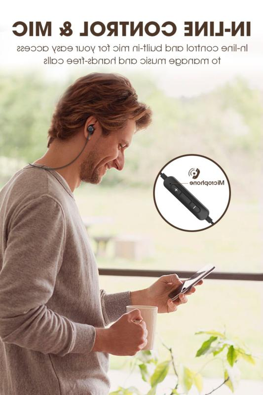 SoundPeats Bluetooth Magnetic Wireless Earbuds Black