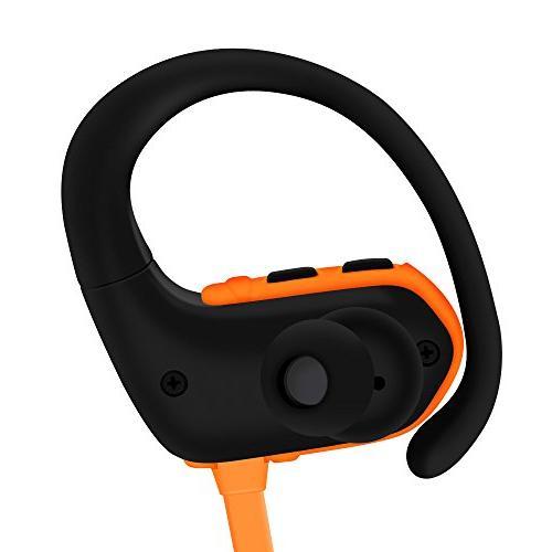 Ralyin Bluetooth Player Wireless Sport Headset Built in Memory Sd Storage Running Workout Walkman