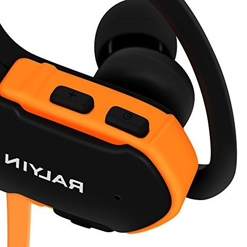 Ralyin Bluetooth MP3 Player Earbuds Headset Built in Running Workout