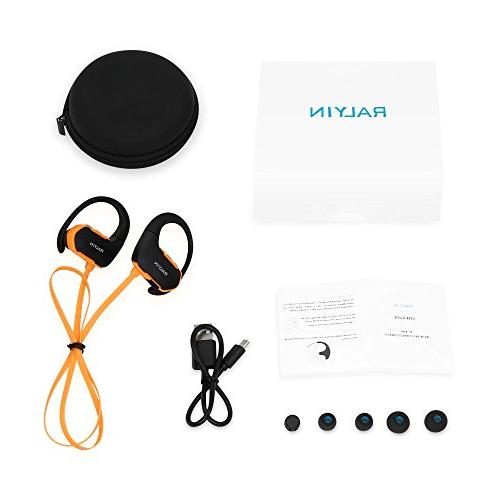 Ralyin MP3 Player Headset Built in Memory Storage Running Gym Workout