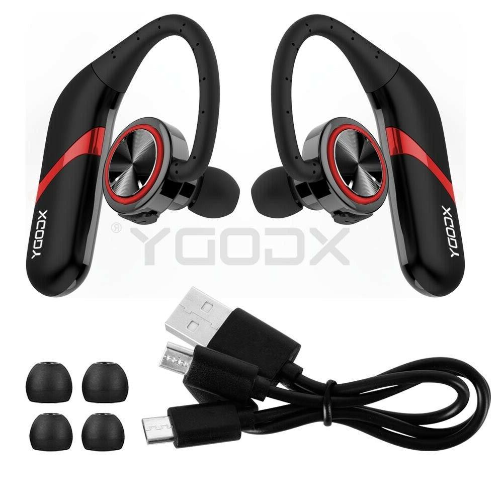 bluetooth headphones stereo headset true wireless sport
