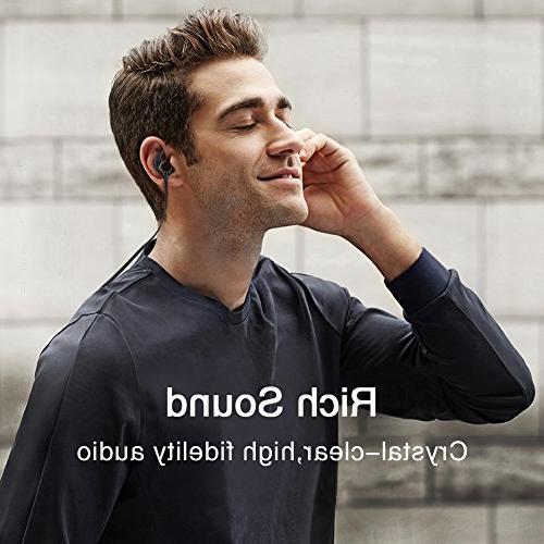 Bluetooth Headphones AWEI 4.1 Smart Earbuds, Snug Fit