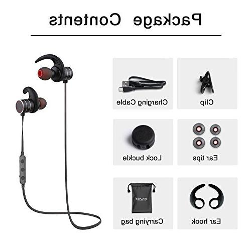 Bluetooth AWEI 4.1 Smart Earbuds, Fit