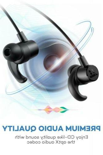 TaoTronics Bluetooth 5.0 Ear Sports Magnetic...