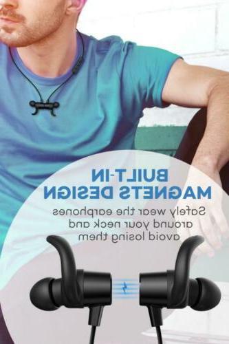 TaoTronics Wireless 5.0 Ear Sports Magnetic...