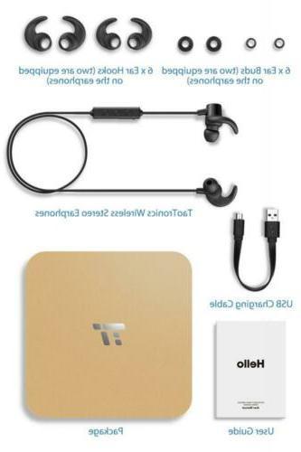 TaoTronics 5.0 Earbuds Sports Magnetic...