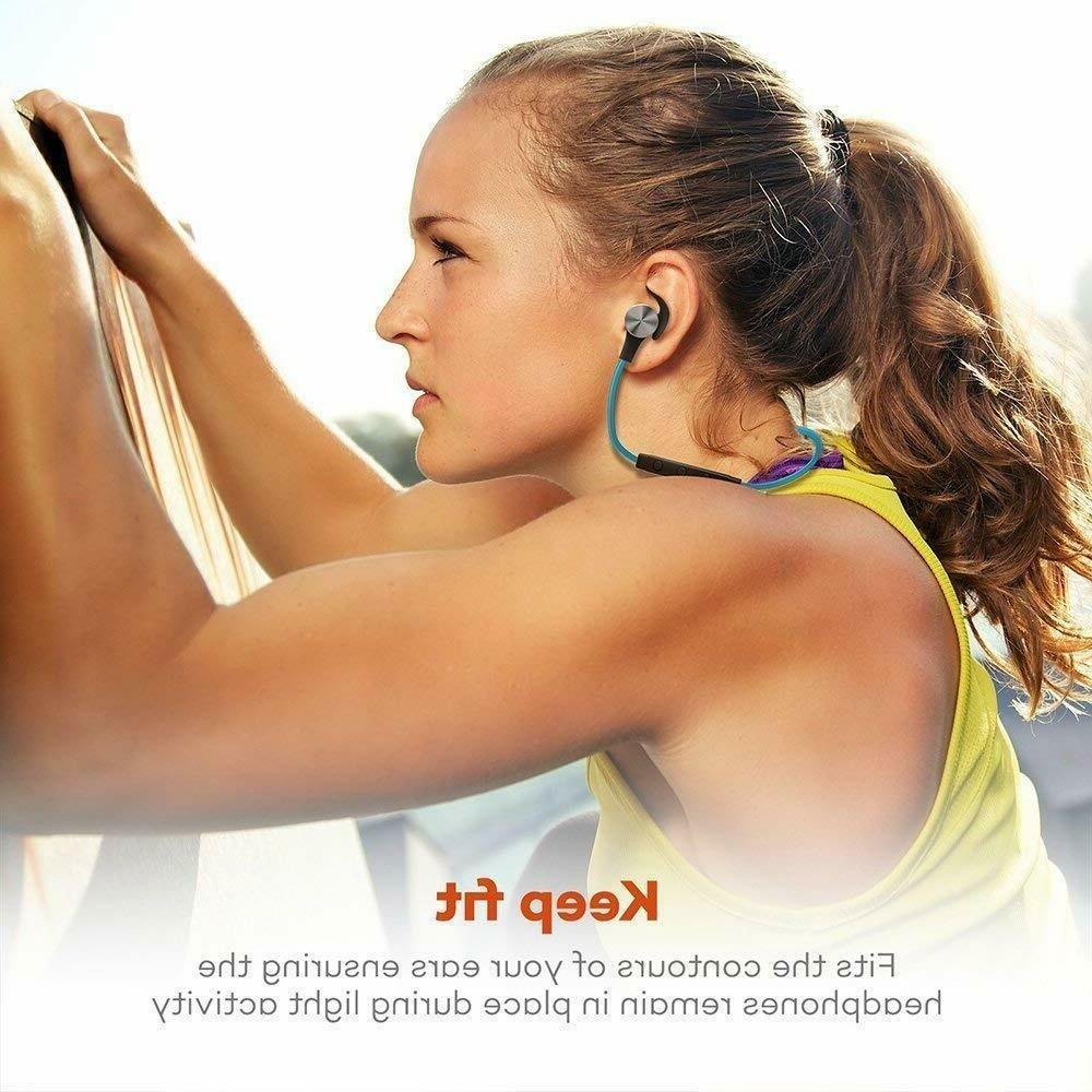Bluetooth Headphones TaoTronics 5.0 Magnetic Earbuds Sport TT-BH07