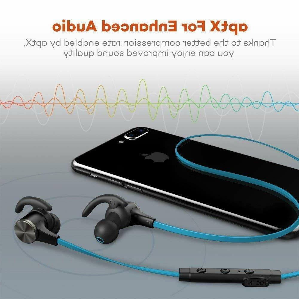 Bluetooth Headphones TaoTronics Wireless 5.0 Magnetic TT-BH07