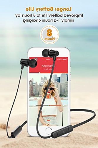 SoundPEATS Bluetooth Wireless Earbuds 4.1 Earphones Earbuds Mic Sports