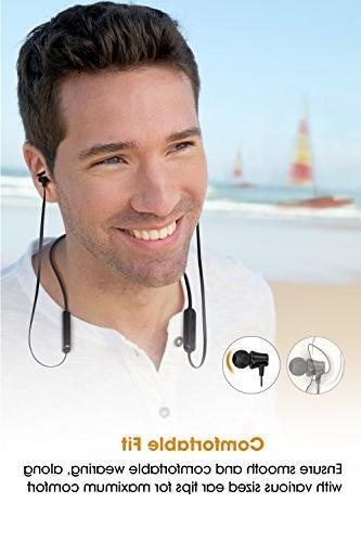 SoundPEATS Headphones Earbuds Earphones Mic for in-Ear Sports
