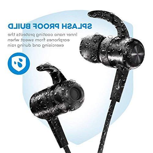 Bluetooth Headphones TaoTronics Earbuds Earphones Hours 4.2