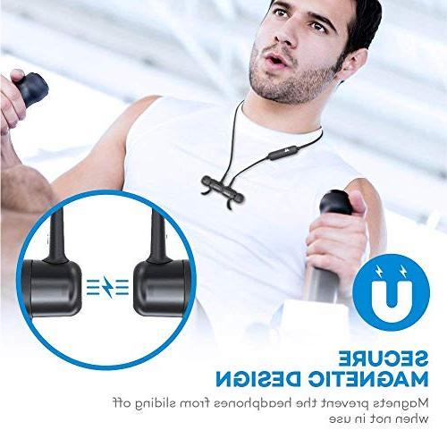 Earbuds Sport Earphones Hours Magnetic & Fast