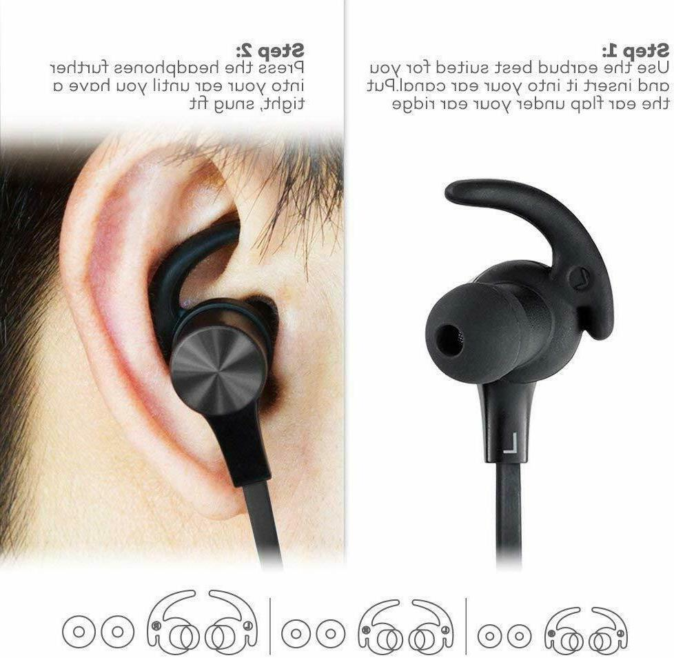 Bluetooth Wireless Magnetic Earbuds