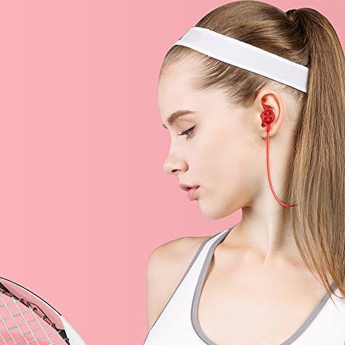 Sport Earphones Earbuds Sweatproof Ear Earphones Wireless Running Workout